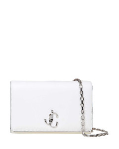 Varenne chain leather clutch