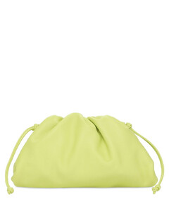 The Mini Pouch Smooth Leather Clutch