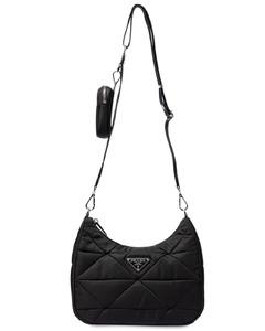 Quilted Nylon Shoulder Bag
