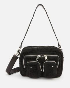 's Ellie Teddy Cross Body Bag - Black