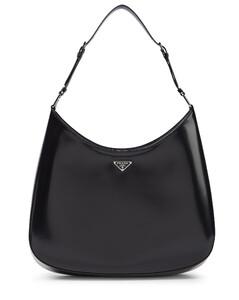 Cleo Maxi brushed leather shoulder bag