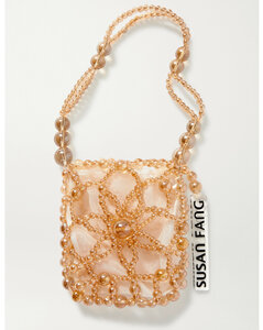 Bubble Flower Beaded Tote