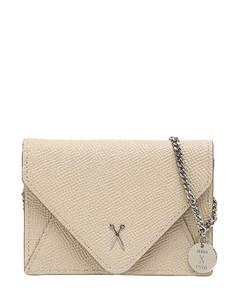 Easypass Amante Card Wallet with Chain Ecru Beige
