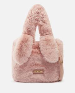 Black leather and fabric Attica Soft belt bag