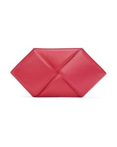 粉色六边形手拿包