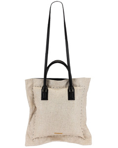 Le Coussin Bag in Beige