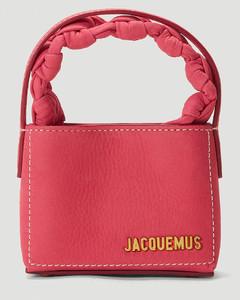 Le Petit Sac Noeud Handbag in Pink
