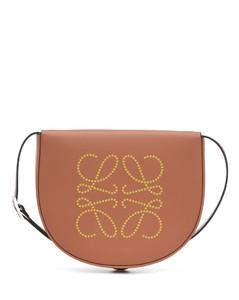 Heel Anagram leather crossbody bag