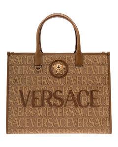 Veneta large leather hobo bag