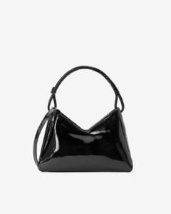 Rockstud leather envelope pouch