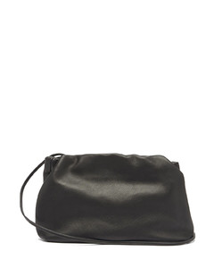 Bourse leather clutch bag