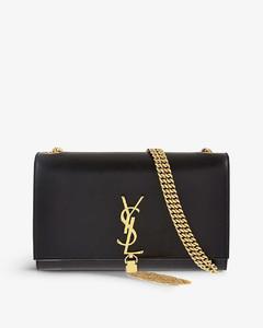 Kate tassel medium leather shoulder bag