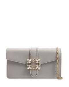 Miss Vivier Leather Clutch