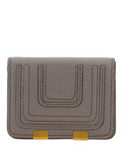 Amber Baby Crocodile Embossed Shoulder Bag in Pink