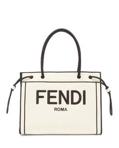 Roma Shopper small canvas tote bag