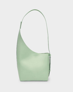 Demi Lune Bag In Mint Leather