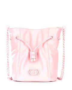 Hammered leather bag