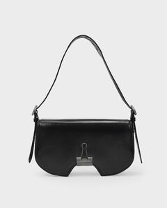 Baguette Bag In Black Leather