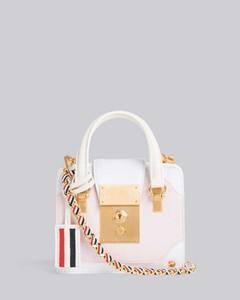 Handbag Small Top Handle In Brown Lizard