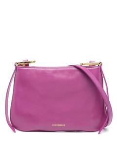Leather Cross-Body Bag In Black