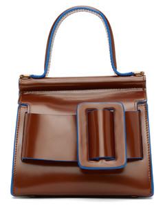 棕色Karl 19手提包