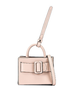 Bobby Charm with Strap in Pink
