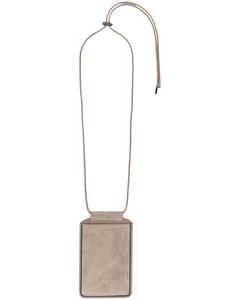 Woman Minee Vegan Croc-effect Leather Belt Bag