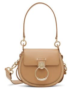 Atina stud-embellished leather cross-body bag