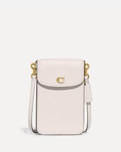 Botsy black suede saddle bag