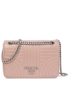 Diagramme Small leather shoulder bag
