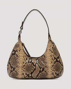 Baby Amber snake print shoulder bag
