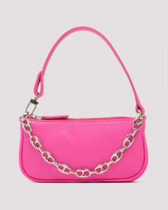 Mini Rachel neon pink shoulder bag