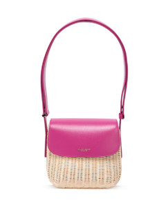 Small Quilted Monogram Lambskin TB Bag