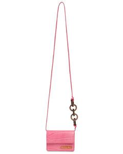 Le Petit Riviera Croc Embo Leather Bag