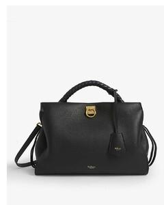 Iris leather shoulder bag