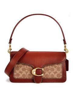 Tabby 26 panelled leather shoulder bag