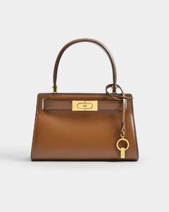 Lee Radziwill Petite Bag in Brown Moose Leather