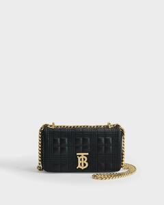 Mn Lola Bag in Black Leather