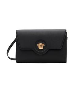 Lozenge Mini Bucket Bag In Silver Zamac