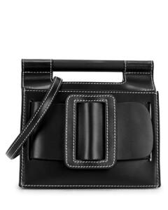 Romeo Big Stitch small leather cross-body bag