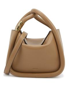 Wonton 20 leather top handle bag
