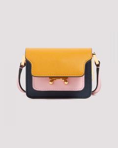 Trunk Nano leather crossbody bag