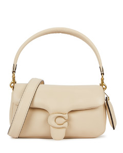 Pillow Tabby 26 ivory leather shoulder bag