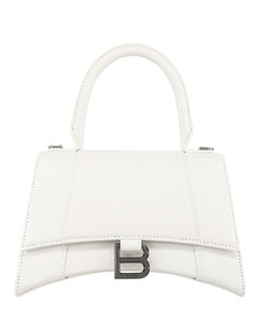 Hourglass top handle bag s whi...