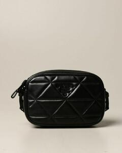 Spectrum shoulder bag in nappa leather