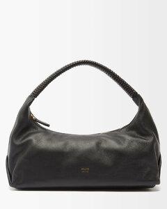 Gitana Rafia Straw Complex Top Handle Bag for Women