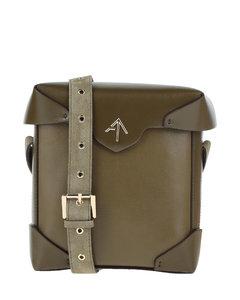 Women's Amali Branded Webbing Strap Xbody Bag - Jet-Black