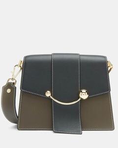 Women's Box Crescent Bag - Forest/Black/Vanilla