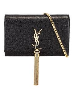 Kate Chain Wallet in Black