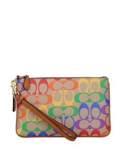 Très Vivier small crystal-embellished leather bag